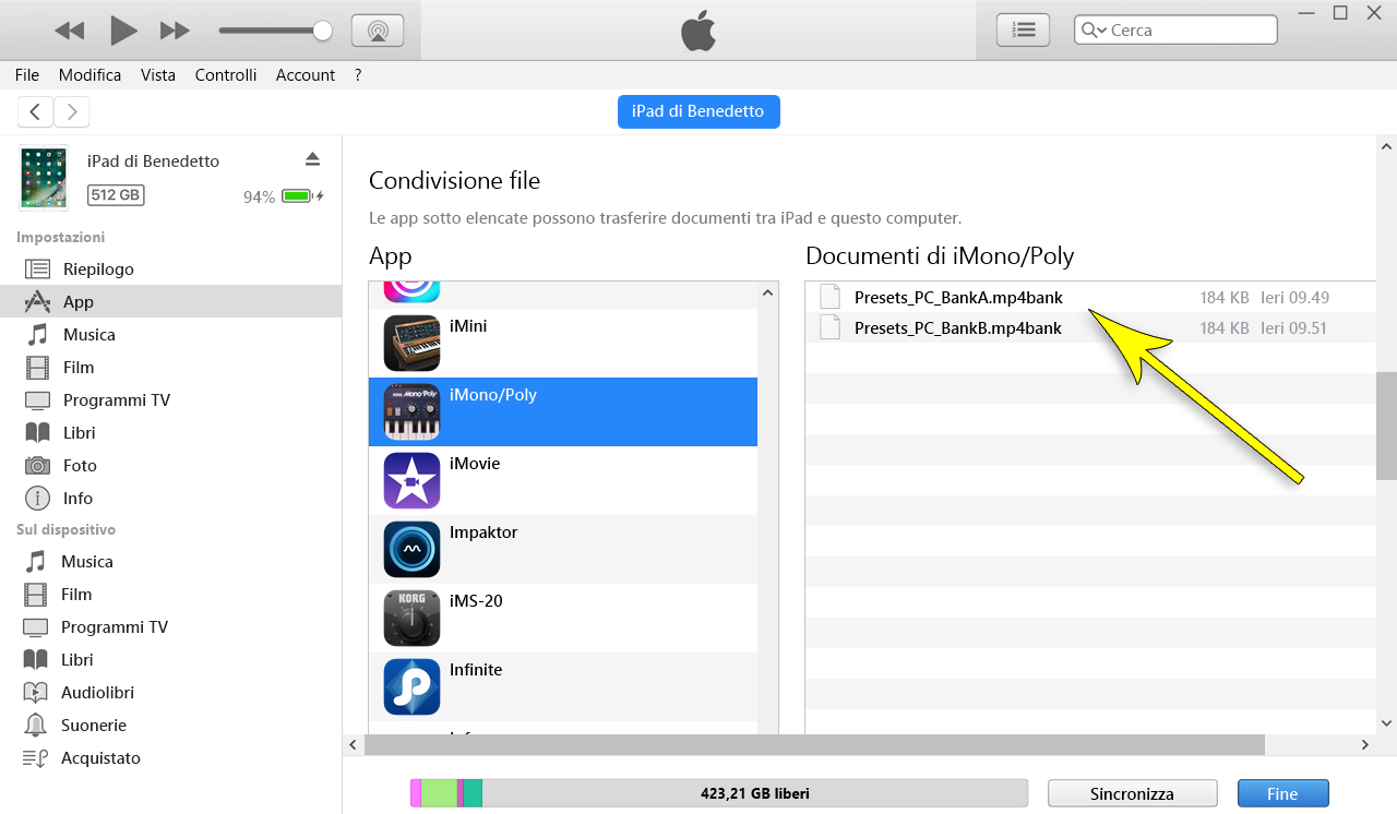 app controllo iphone da pc